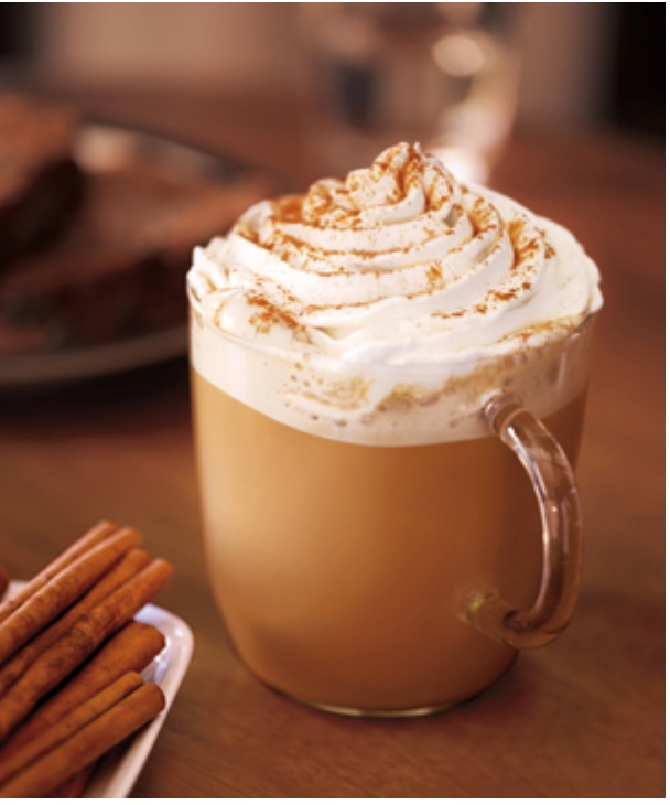 Cinnamon and Orange Café Latte